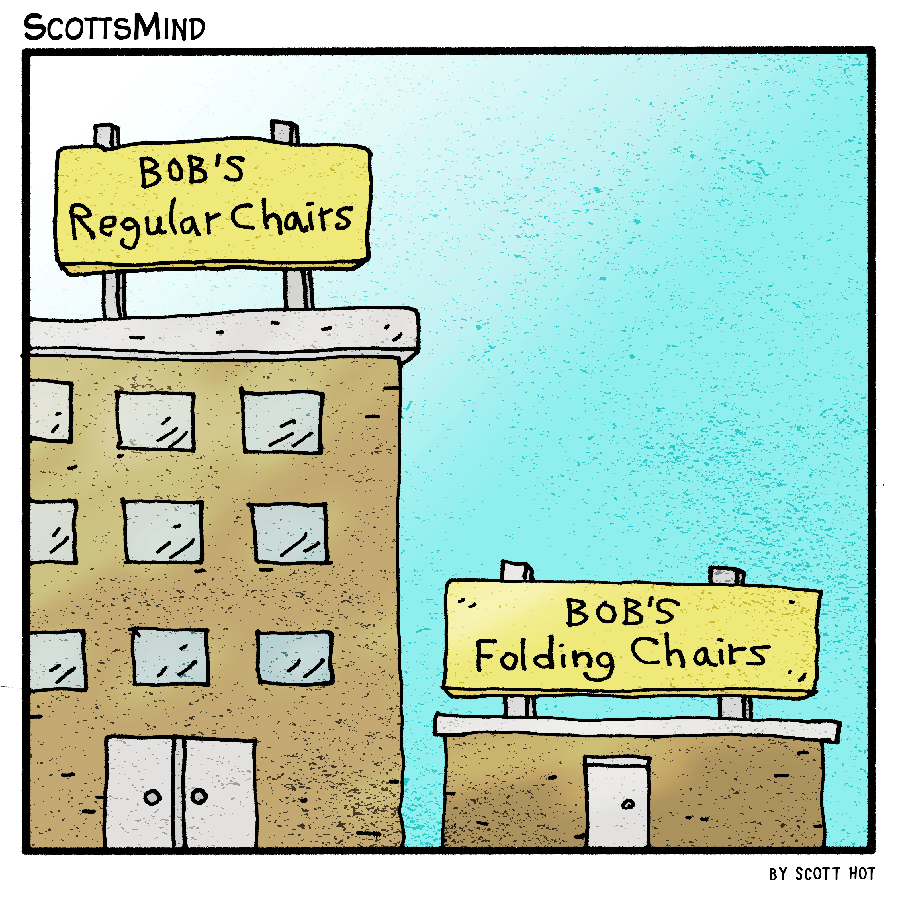 Chairs For Sale Cartoon