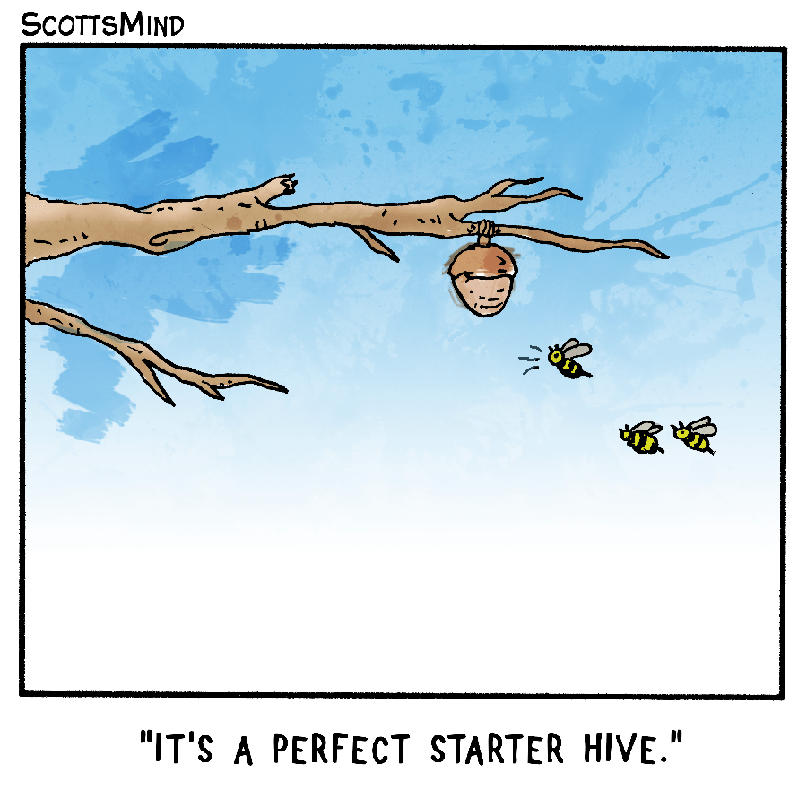 Hive Cartoon