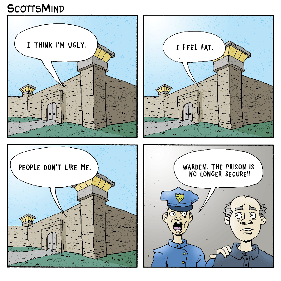 ScottsMind - some webcomic cartoons from Scott Hot