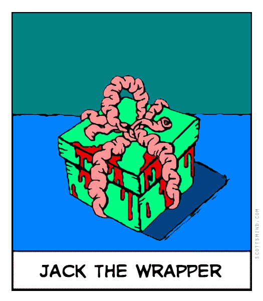 Funny jack the ripper cartoon