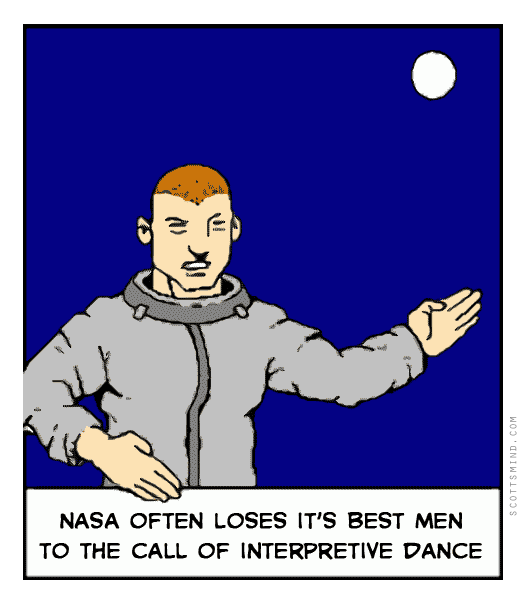 Funny nasa cartoon