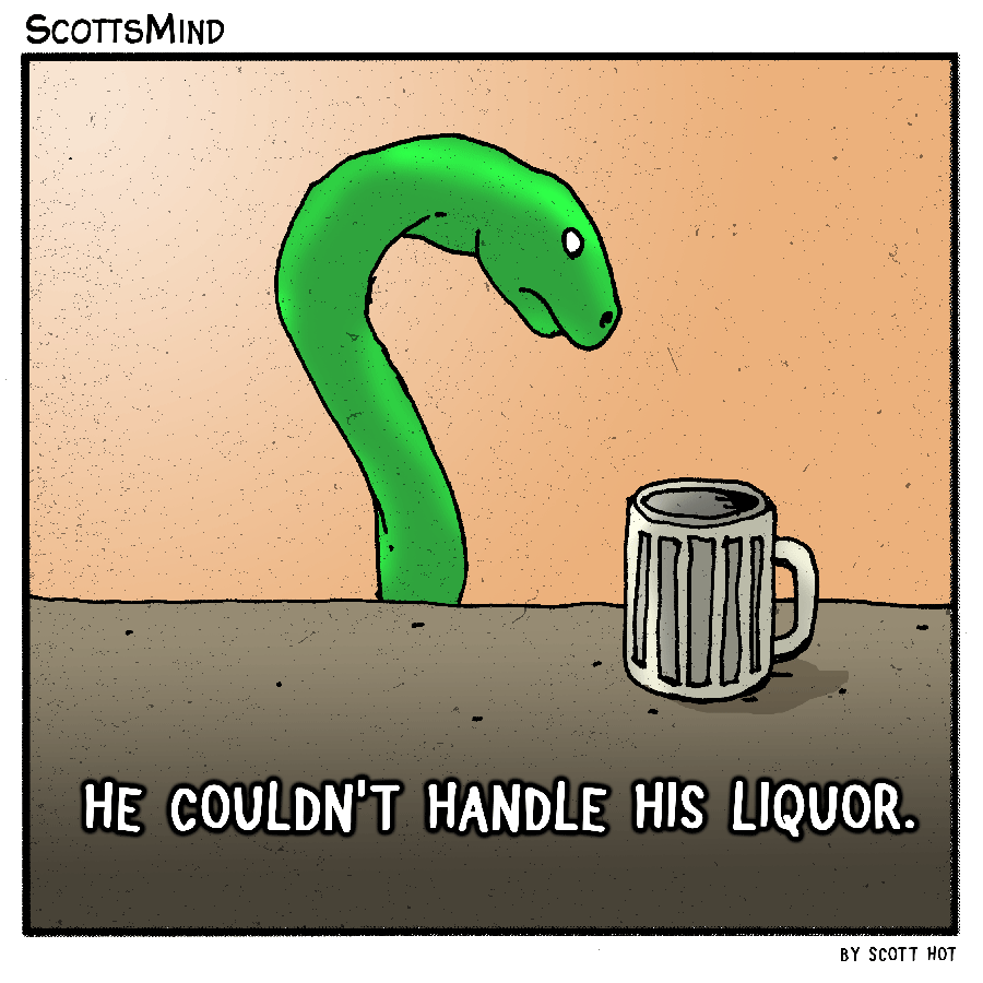 Snake Juice Cartoon